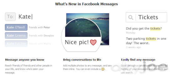 Facebook Messages New Features