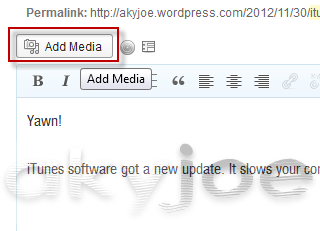 Add media New Interface WordPress Update