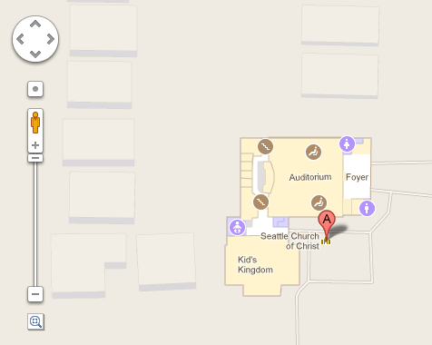 Seattle Church Google Indoor Map