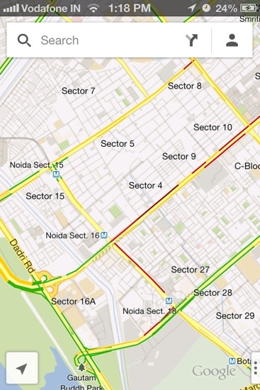 Detailed Places with Traffic Information
