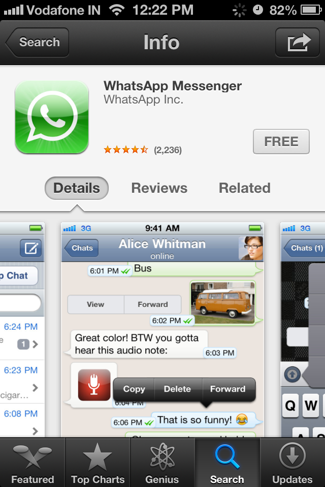 Whatsapp iphone 3g download free