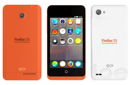 Firefox OS Phone Launch Next Month