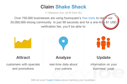 Foursquare for Business Attract customers