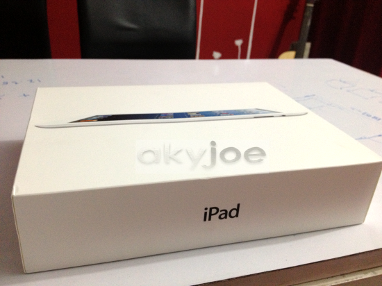 New iPad4 White Box