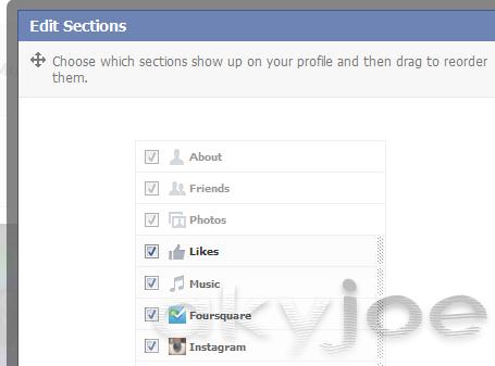 New Facebook Timeline Updates - Edit Section