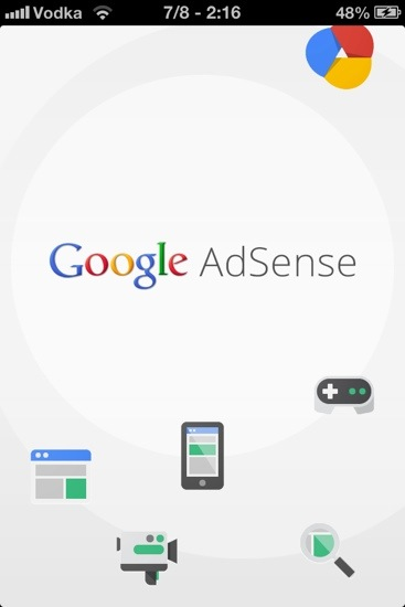 Google Adsense App for IOS