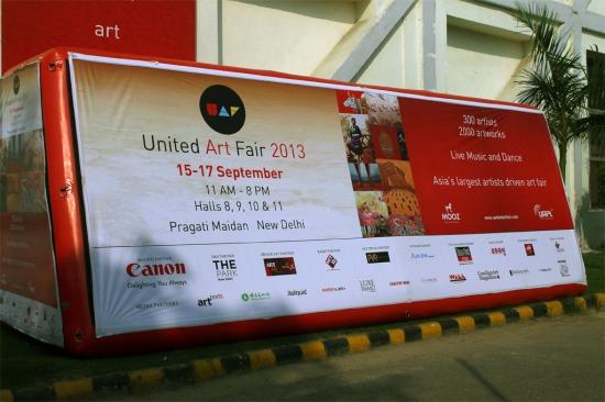 United Art Fair 2013 Entrance