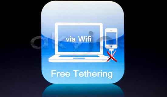 iPhone Free Tethering via Wifi