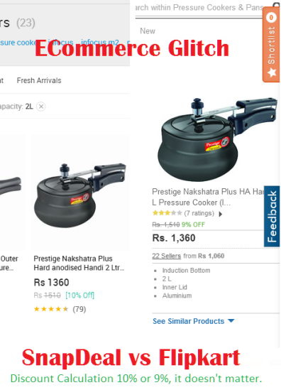 Ecommerce Flaws SnapDeal and Flipkart