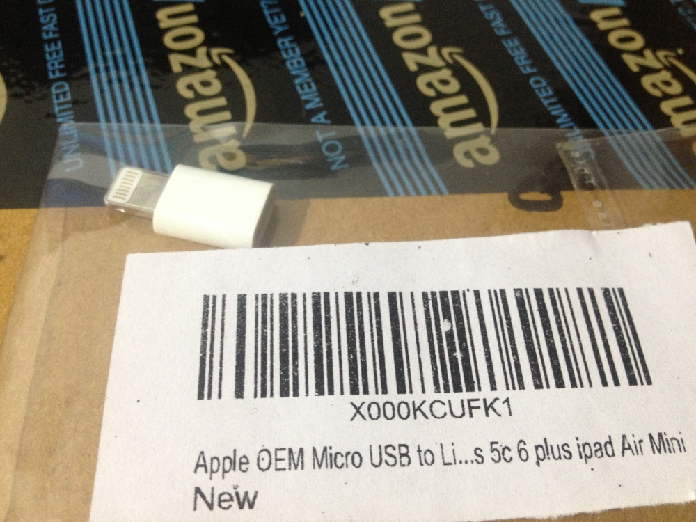 Amazon India delivers Fake Apple Prioduct