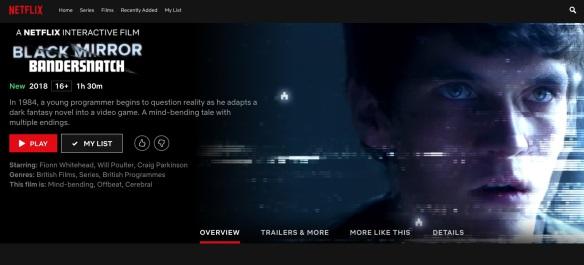 Netflix Interactive Movies Review – Black Mirror